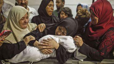 Parmi les blessés,304 enfants.