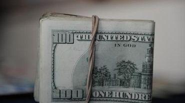 Une liasse de dollars