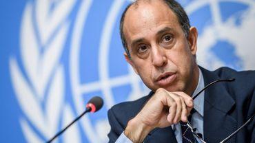 Le rapporteur de l'ONU sur la Corée du Nord Tomas Ojea Quintana à Genève, le 7 juin 2018