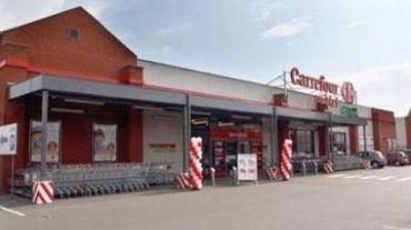 Le Carrefour Market de Saint-Vaast a aussi été braqué ce lundi soir