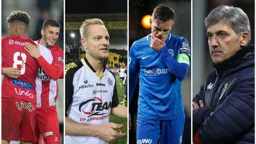 Genk perd deux points, Mouscron bat Bruges, Charleroi s'incline et Lokeren s'en va en beauté