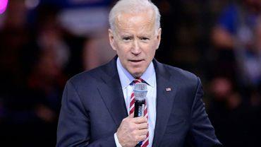L'ancien vice-président Joe Biden à Manchester, dans le New Hampshire, le 8 février 2020