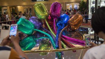 "Jeff Koons, ""Tulips"", Wynn Palace, Macao"