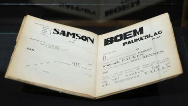 """La Flandre fait l'acquisition du manuscrit de """"Bezette Stad"""" de Paul van Ostaijen"""