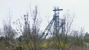 Les châssis à molettes du charbonnage encore visibles