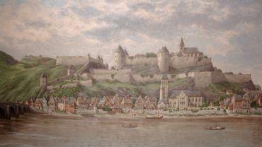 Namur dans les pas du peintre Franz Kegeljan