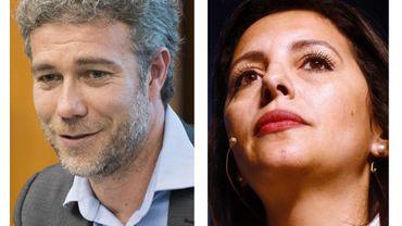 Zakia Khattabi et Alain Maron, têtes de liste bruxelloises d'Ecolo aux élections de mai prochain
