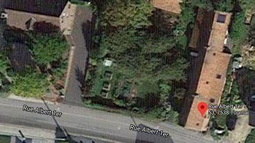 La maison sinistrée se situe à Vezon