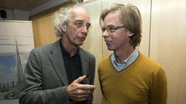 Les architectes Patrick Genard et Marc Belderbos