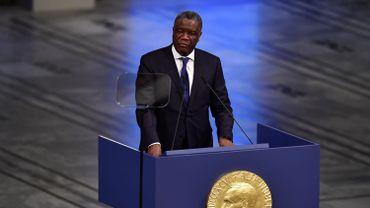 """Présidentielle en RDC: le prix Nobel Mukwege demande la """"démission"""" du président Kabila"""