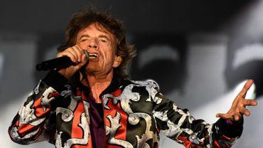 Mick Jagger avec Les Rolling Stones performs, Marseille, juin 2018