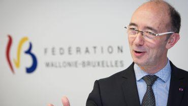 """Rudy Demotte (PS) assure que la Fédération Wallonie-Bruxelles est """"au service des Régions""""."""