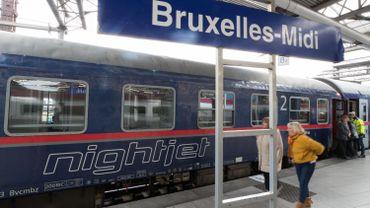 Coronavirus en Belgique: le Nightjet entre Bruxelles et Vienne suspendu jusqu'à fin juin