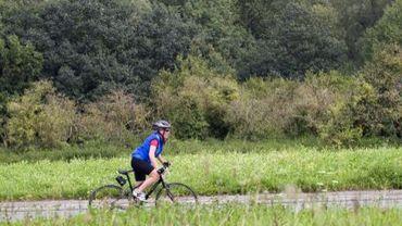 La plaine du Bourdon n'est plus un terrain vague d'Uccle, mais une étape de la promenade verte (Illustration de septembre 2011)