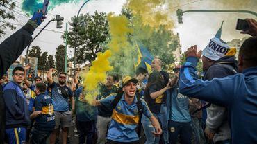 Les supporters de Boca Juniors