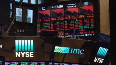 Nouvelle déroute sur les marchés boursiers aux Etats-Unis