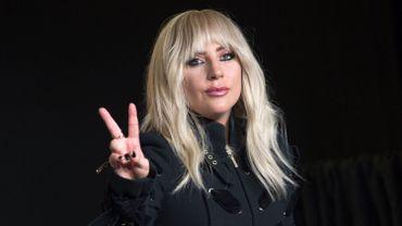 Childish Gambino et Lady Gaga sur la scène des Grammy Awards fin janvier