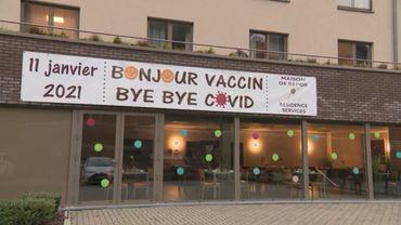 Dans cet établissement de REMOUCHAMPS, en région liégeoise, le vaccin était attendu. Trop, peut-être