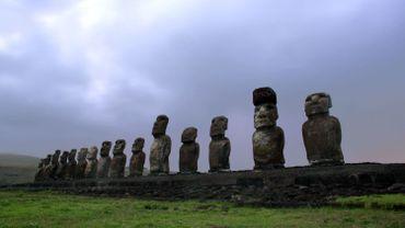 Les Moai de l'île de Pâques nous proviennent de la culture Rapa Nui