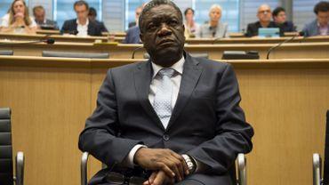 """Le docteur Denis Mukwege également appelé """"l'homme qui répare les femmes""""."""