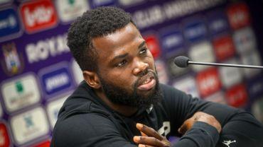 Kemar Lawrence, ultime recrue du mercato d'Anderlecht, n'est pas encore prêt