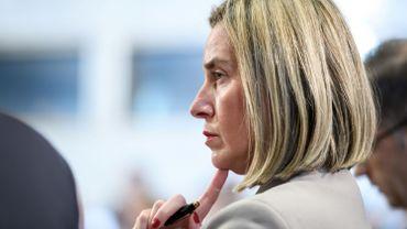 La cheffe de la diplomatie européenne Federica Mogherini.