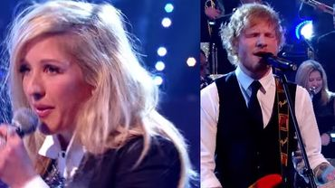 Festif: Ed Sheeran reprend Stevie Wonder et Ellie Goulding les Jackson Five
