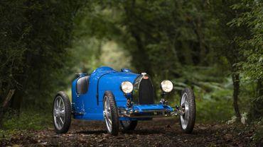 La production de la Baby II, la Bugatti électrique pour enfant, vient d'être lancée.