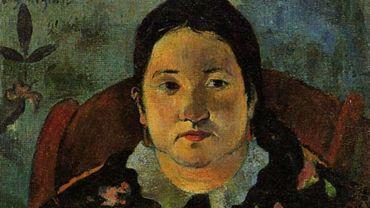 "Paul Gauguin, ""Portrait de Suzanne Bambridge"""