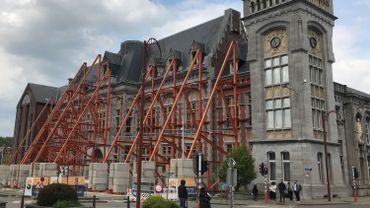 Le triste état du Palais de Justice de Verviers