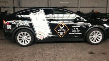 Quelque 450 taxis bruxellois sont prêts à passer au système Victor Cab dès ce mercredi