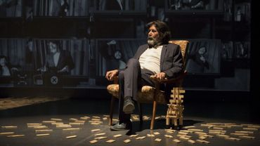 Ce que le dictateur n'a pas dit, un texte de Meriam Bousselmi qui signe également la mise en scène avec Lassaad Jamoussi comédien