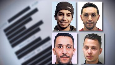 La liste comprend des noms des suspects des attentats de Paris (illustration).
