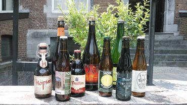 Deux routes thématiques et un GR sur les brasseries, et les vignobles et distilleries de Wallonie