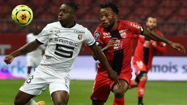 Jérémy Doku monté au jeu, a effectué ses débuts avec Rennes, qui se contente d'un match nul à Dijon