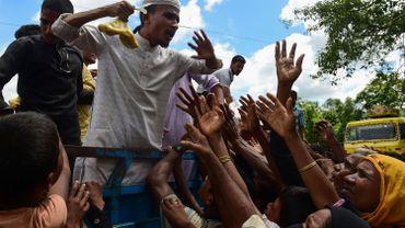 Quelque 380 000 Rohingyas se sont réfugiés au Bangladesh depuis fin août, selon les estimations de l'ONU.