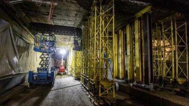 Tunnels bruxellois - Le tunnel Stéphanie à nouveau ouvert à la circulation