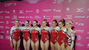 L'équipe belge féminine de gymnastique qualifiée pour le test event des JO