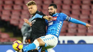 Le défenseur de Naples Raul Albiol opéré avec succès au genou gauche