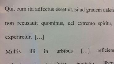 Non, le latin n'a pas dit son dernier mot !
