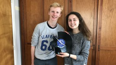 Alexandre et Alice, 16 ans, membres de l'équipe d'Art 33