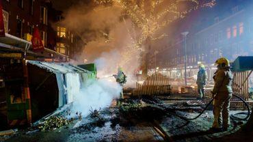 Deuxième nuit d'émeutes aux Pays-Bas après l'imposition du couvre-feu
