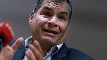 Rafael Correa, ancien président de l'Equateur.