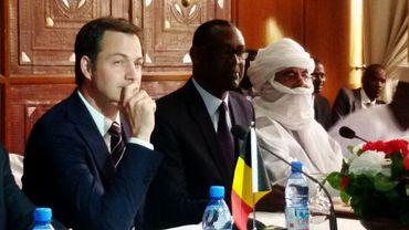 Alexander De Croo s'est entretenu mercredi avec le Premier Ministre nigérien Brigi Rafini et le Ministre des Affaires étrangères et du Développement international Ibrahim Yacouba.