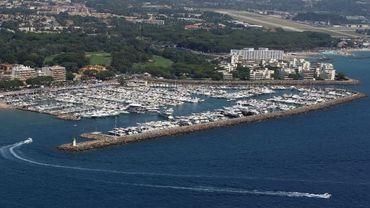 Le port de Mandelieu-La Napoule près de Cannes