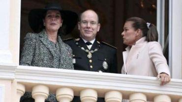 Caroline et Stéphanie de Monaco n'ont cessé de discuter et de rire lors de leur apparition au balcon