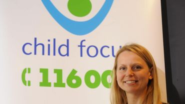 Maryse Rolland, la porte-parole de Child Focus.