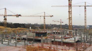 Les travaux du parking RER devraient s'achever en 2016