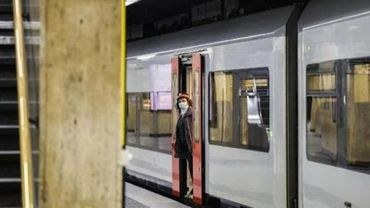 Une pétition demande le maintien d'un tag en hommage à George Floyd sur un train SNCB
