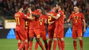 La Belgique en tête du classement FIFA pour la 10e fois consécutive